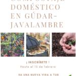 Compostaje doméstico en Gúdar-Javalambre 15 de Febrero